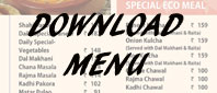 Download Bikanervala Agra Menu for easy reference